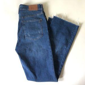 MADEWELL Tall Cali Demi-Boot Jeans